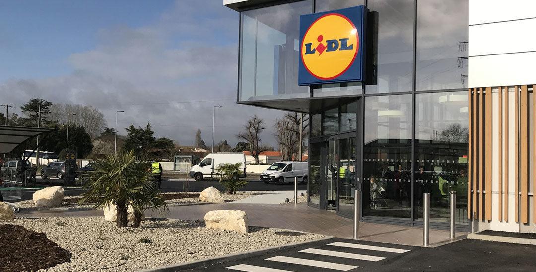 Construction du LIDL de Blanquefort
