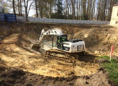 Construire un ensemble scolaire avec une ludo médiathèque à Bruges
