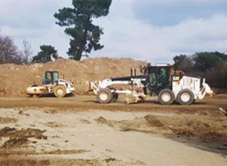 Atlantic Route traite les sols de la station de lavage de poids-lourds.
