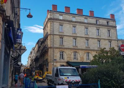 Travaux d'aménagement et d'entretien d'espace public à Bordeaux