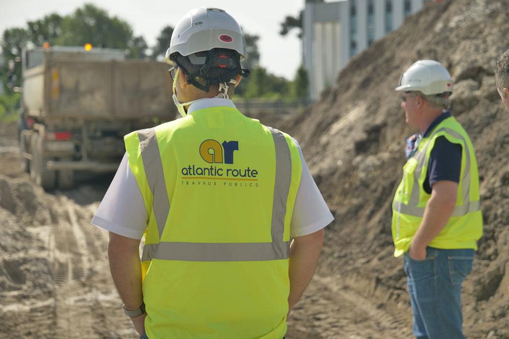 Reprise progressive des chantiers pour les équipes d'Atlantic Route