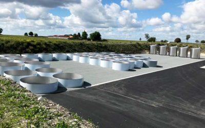 Nouvelles plateformes à Jarnac Champagne – établissements Chalvignac